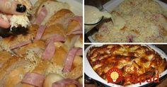 Večera doslova za pár centov, na ktorú môžete navyše skvele využiť zvyšky z chladničky. Staršie rožky alebo chlebík sú na túto dobrotu ako stvorené! Hawaiian Pizza, Mashed Potatoes, Meat, Ethnic Recipes, Food, Whipped Potatoes, Smash Potatoes, Eten, Meals