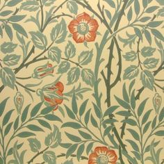 Made To Measure Curtains, Sanderson Fabrics & Wallpaper, Harlequin Fabrics & Wallpaper, > Morris & Co Wallpaper Sweet Briar WM7421/5