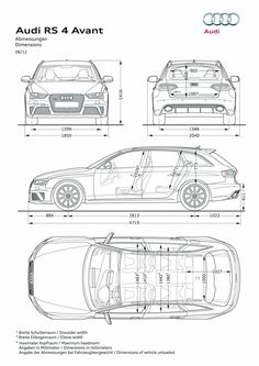 Audi Car Art Poster Print on 10 mil Archival Satin Paper White Spec Sheet View Audi A3 Sportback, Audi Rs6, Audi Q7 Interior, Audi A3 Limousine, Audi A6 Avant, Automotive Design, Automotive Engineering, Transportation Design, Concept Cars