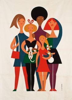 thingsmagazine:  Alexander Girard, Girls
