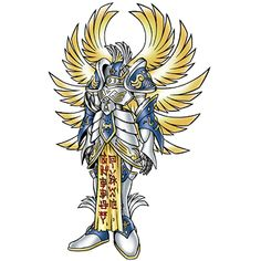 Seraphimon - Mega level Angel/Seraph digimon; one of the Celestial Digimon