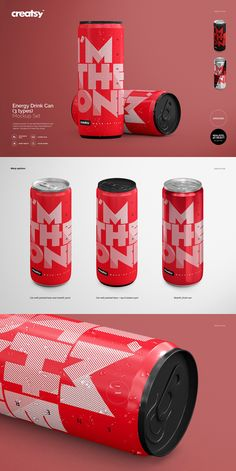 High quality mockup set of Energy Drink Can Mockup Set by creatsy on Creative Market | #mockup #template #print #printing #creatsy #custom #realistic #design #personalized #shop #etsy #smart #printinghouse #printhouse #packaging #package #packing #store #mockupset #set #psd #photoshop #object #can #aluminium #aluminum #brew #milk #juice #liquid #drink #metal #water #coffee #tea #energy #energydrink #container #label #carbonated #coke #cola #cold #fresh #tin #beverage