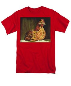 """Setting Hen"" T-shirts for sale! Your choice of color!"