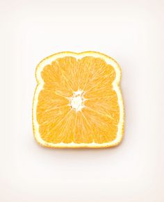 the absolute ART blog | Orange Toast it makes you think and look differently