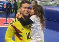 Así sorprendió Daniela Ospina a James Rodríguez durante estadía en Bogotá