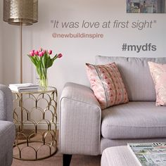 For anyone who is not an interior designer, one of the biggest challenges is turning an empty space that no-one else has styled or even lived in before, and turning it into a home. Explore inspiring interiors direct from your homes. | #mydfs
