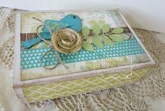 Cute card box! #CTMH #createwithheart