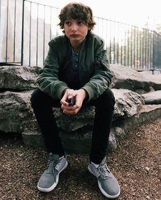 Finn Wolfhard in a photo shoot for @CityLifeMag #StrangerThings #FinnWolfhard