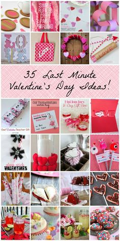 35 Last Minute Valentine's Day Ideas! || Practically Functional