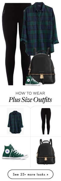 Giovanna by fanny483 on Polyvore featuring Madewell, Michael Kors, Converse, womens clothing, women, female, woman, misses and juniors