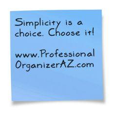 Choose #simplicity