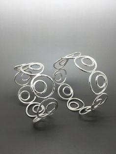New Sterling silver bangles by cdsodesigns