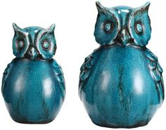 Owls and my favorite color!