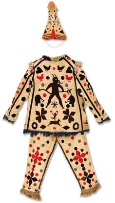 Vintage Textiles and Costumes - Hands Across The Sea Samplers Vintage Circus Costume, Vintage Halloween, Vintage Costumes, Costumes Faciles, Fancy Dress, Dress Up, Theatre Costumes, Wool Applique, Kind Mode