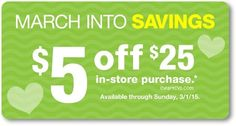 i heart cvs: purchase-based coupons issued to some customers, available until 03/01  http://www.iheartcvs.com/2015/02/purchase-based-coupons-issued-to-some_26.html