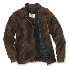 Just found this Suede Bomber Jackets - Suede Bomber Jacket -- Orvis on Orvis.com!