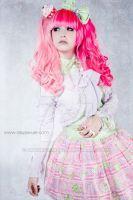 GLW Pink Split by AmaraVonNacht