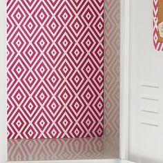 Aqua Polka Dots 16 x 20 RoomLookz Peel and Stick Repositionable Wallpaper