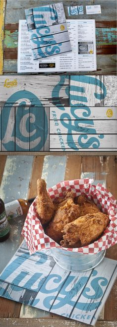 Lucy's Fried Chicken | Pentagram