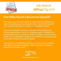 Recruiting Resume Impact Business Group Impactbg On Pinterest