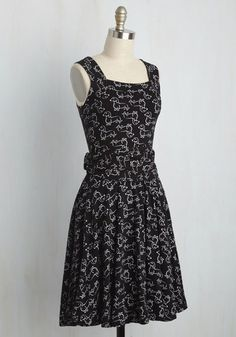 Guest of Honor Dress in Dachshund | Mod Retro Vintage Dresses | ModCloth.com