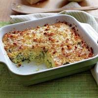 Topsy Turvey Egg Bake-Using mild-flavored broccolini introduces kidsto ...
