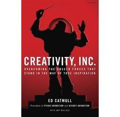 Creativity, Inc.: Overcoming the Unseen Forces That Stand in the Way of True Inspiration by Ed Catmull, the president & co-founder of Pixar about how to foster a creative workplace and leadership lessons from throughout his career
