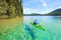 This secret lake in BC looks like a Caribbean paradise with its crystal clear, turquoise waters and stretch of glistening, white sand beach. Johnson Lake Bc, Places To Travel, Places To See, Travel Destinations, Travel Local, Clearwater Lake, Voyage Canada, Yoho National Park, Canadian Travel