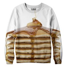 This mouthwatering pancake sweatshirt ($65): | 25 Super Cute Styles All Carb-Lovers Need In Their Lives