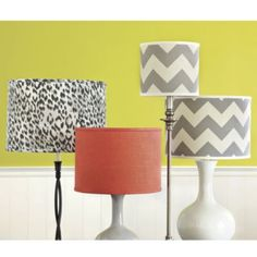 Hudson Collection Limited Edition Lamp Shade | Ballard Designs-  The spice one would go nice with the faberic