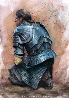 knight Medieval Knight, Medieval Art, Medieval Fantasy, Fantasy Armor, Dark Fantasy, Fantasy Illustration, Middle Ages, Character Concept, Creatures