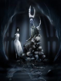 Hades and Persephone by ~celtic-ronin on deviantART
