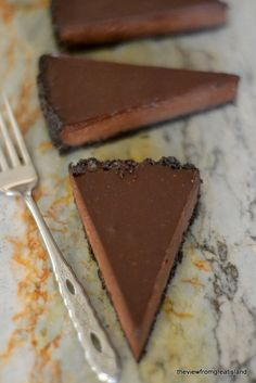 Espresso Ganache Tart - The View from Great Island
