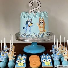 Images about #blueycake on Instagram Abc Party, First Birthday Party Themes, Blue Birthday, Third Birthday, Birthday Ideas, Cookie Decorating, Savannah, First Birthdays, Party Ideas
