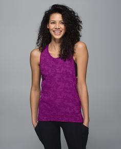 """Wear, run, repeat. We designed this tank with special anti-stink technology so that we can wear it multiple times before washing - legitimately removing """"laundry pile""""  from our list of workout excuses."""