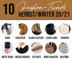 Das sind die Must Haves im Herbst/Winter 20/21 Must Haves, 21st, Fashion Trends, Fringes, Fall Winter, Trendy Fashion