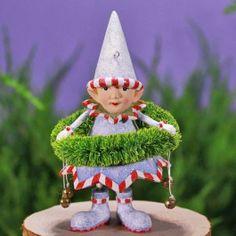 Dash Away Dasher`s Wreath Elf Ornament