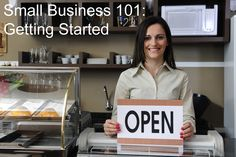 Tips on starting your own business. Great resources too!