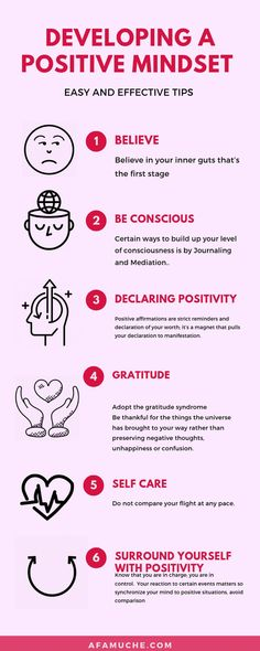 The Unusual Ways To Develop A Positive Mindset - Self-development infographic, self-care infographic, educational infographic, inspiration infograph - Motivation Positive, Positive Mindset, Positive Quotes, Positive Attitude, Positive Psychology, Positive Living, Color Psychology, Positive Thoughts, Anxiety Relief