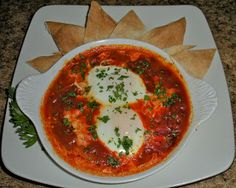 Shawna's Food and Recipe Blog: Tunisian Shakshuka