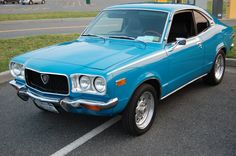 1973 MAZDA RX-3 Mazda Cars, Vw Cars, Classic Japanese Cars, Classic Cars, 147 Fiat, Best Car Photo, Gas Saver, Cute Car Accessories, Cool Sports Cars