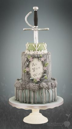 Princess Bride Cake by Little Cherry
