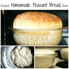 The Easiest Homemade Peasant Bread Recipe Ever
