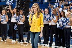Erin Andrews at the UK Basketball Game!
