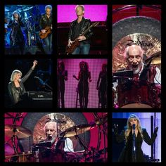 Fleetwood Mac 2014 Concert Tour Collage Created By Tisha