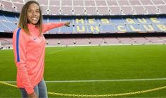 """Yulimar Rojas: """"Será un orgullo defender los colores del Barcelona"""" - http://www.notiexpresscolor.com/2016/11/21/yulimar-rojas-sera-un-orgullo-defender-los-colores-del-barcelona/"""