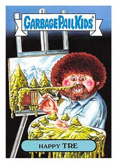 902bc0456e5 2018 Topps Garbage Pail Kids Series 1 We Hate the 80s Trading Cards 80s  CELEBRITIES