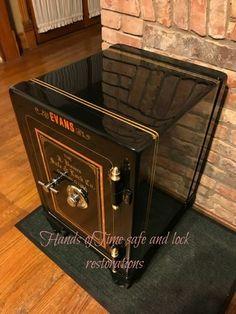 Antique Safe, Safe Vault, Vault Doors, World Clock, Deposit Box, Banks Vault, Safe Lock, Man Cave Garage, Secret Rooms