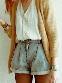 denim shorts (vintage?)
