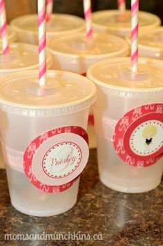 Ballerina Party Cups
